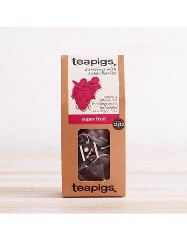 teapigs Super Fruit 15 piramidek